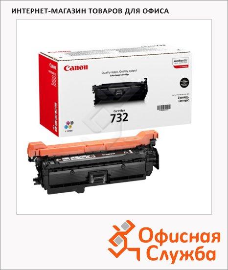 Тонер-картридж Canon 732Bk, черный, (6263B002)