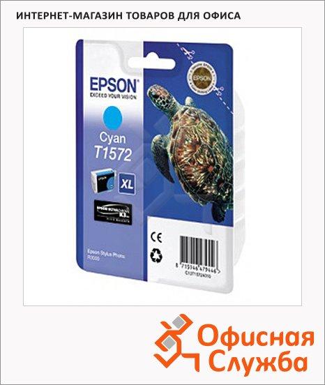 фото: Картридж струйный Epson C13 T157240 голубой