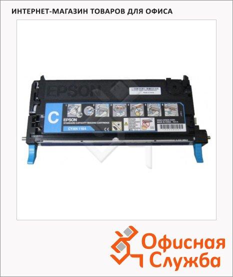 Тонер-картридж Epson C13S051164, голубой
