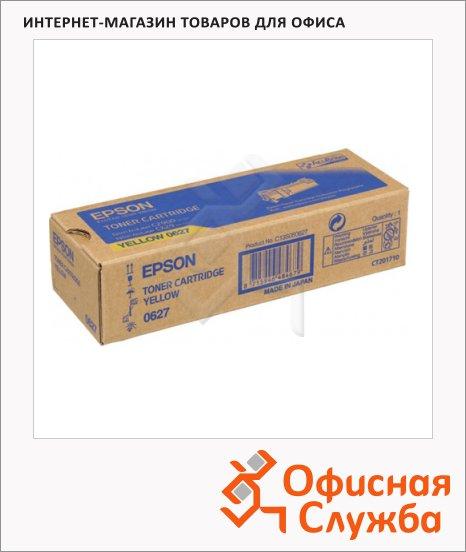 Тонер-картридж Epson C13S050627, желтый