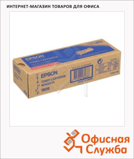фото: Тонер-картридж Epson C13S050628 пурпурный