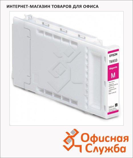 Картридж струйный Epson C13 T693300, пурпурный