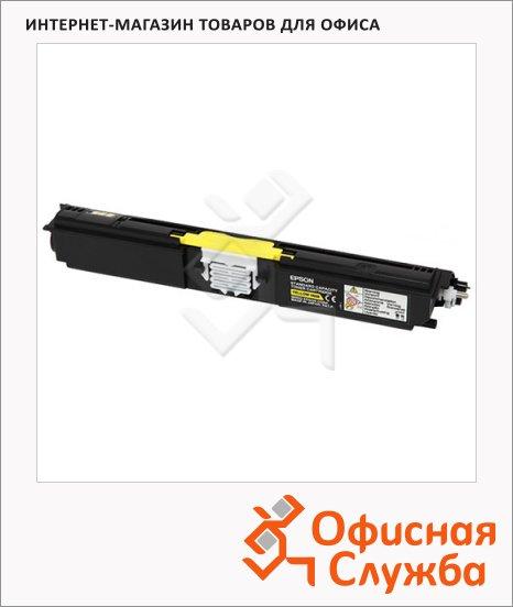 Тонер-картридж Epson C13S050558, желтый