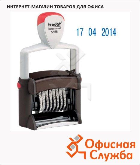 Датер автоматический Trodat Professional 5мм, цифры, 5558В