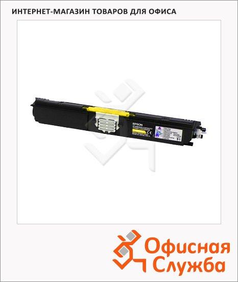 Тонер-картридж Epson C13S050554, желтый