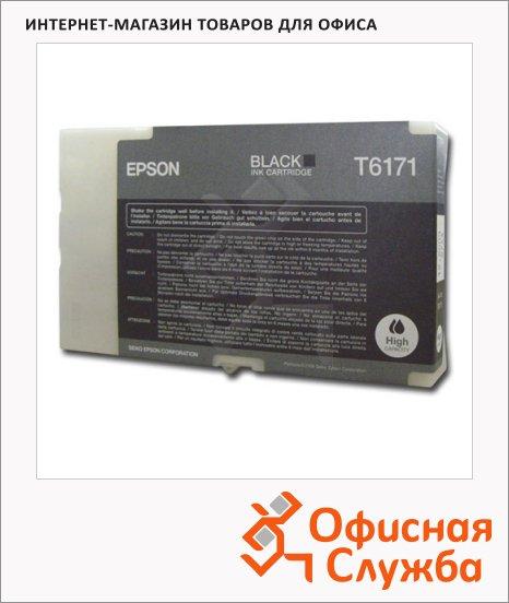 фото: Картридж струйный Epson C13 T617100 черный