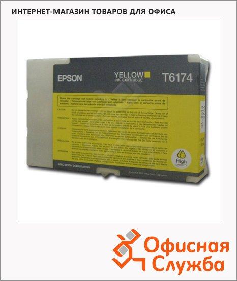 фото: Картридж струйный Epson C13 T617400 желтый
