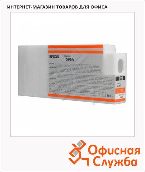 Картридж струйный Epson C13 T596A00, оранжевый