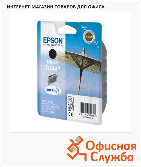 фото: Картридж струйный Epson C13 T044140 черный