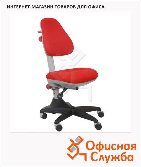 Кресло детское Бюрократ KD-2 ткань, крестовина пластик, красная, красная