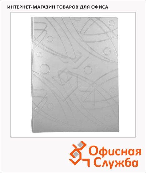 фото: Папка файловая Бюрократ Galaxy белая A4, на 20 файлов, GA20WT