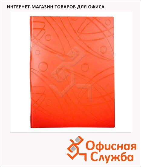 фото: Папка файловая Бюрократ Galaxy оранжевая A4, на 20 файлов, GA20OR