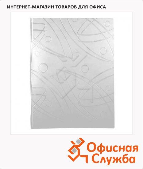 фото: Папка файловая Бюрократ Galaxy белая А4, на 40 файлов, GA40WT