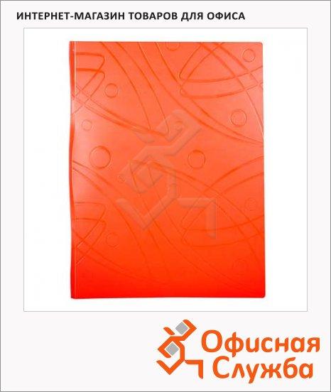 Папка файловая Бюрократ Galaxy оранжевая, А4, на 60 файлов, GA60OR