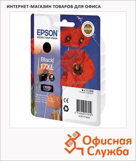 фото: Картридж струйный Epson C13 T17114 A10 черный