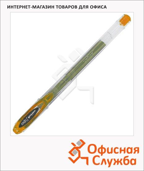 фото: Ручка гелевая Uni UM-120 оранжевая 0.7мм