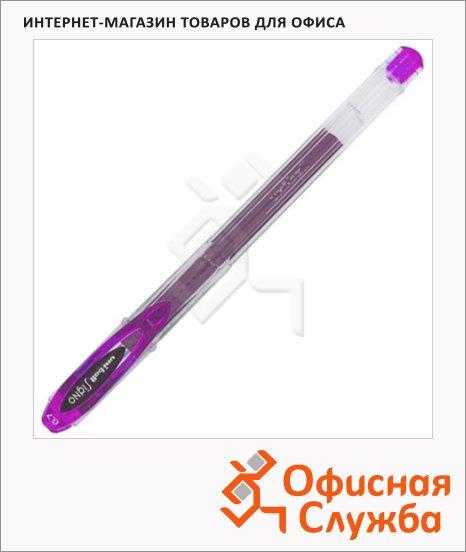 Ручка гелевая Uni UM-120 розовая, 0.7мм
