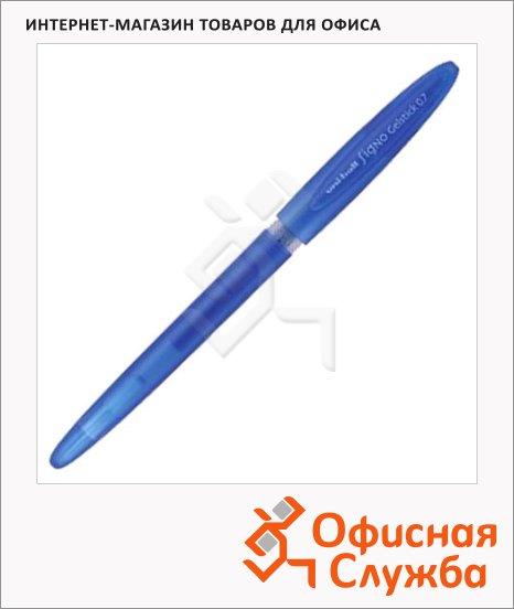 Ручка гелевая Uni UM-170 синяя, 0.7мм
