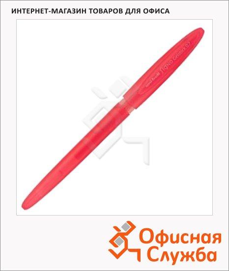 фото: Ручка гелевая Uni UM-170 красная 0.7мм