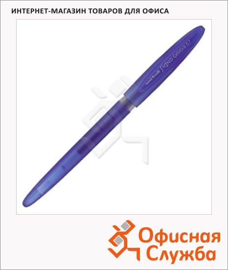 Ручка гелевая Uni UM-170 фиолетовая, 0.7мм