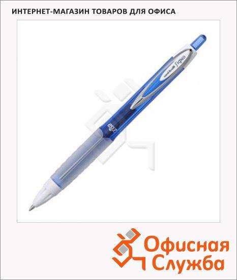 фото: Ручка гелевая автоматическая Uni UMN-207 темно-синяя