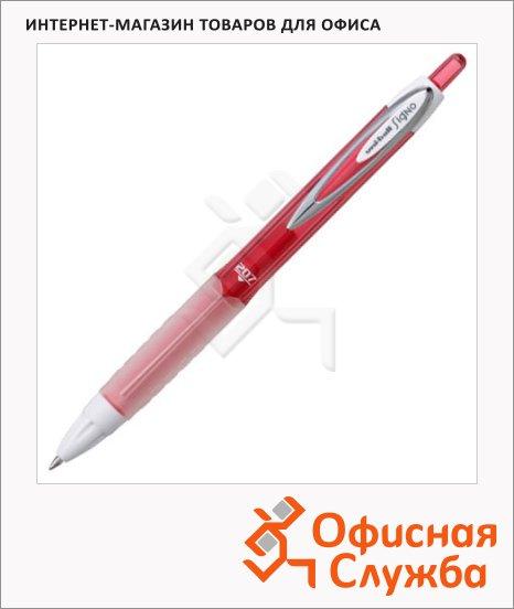 фото: Ручка гелевая автоматическая Uni UMN-207 красная