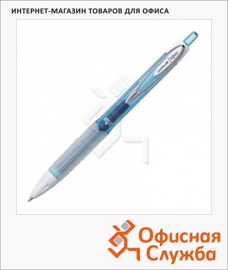 Ручка гелевая автоматическая Uni UMN-207 синяя, 0.7мм