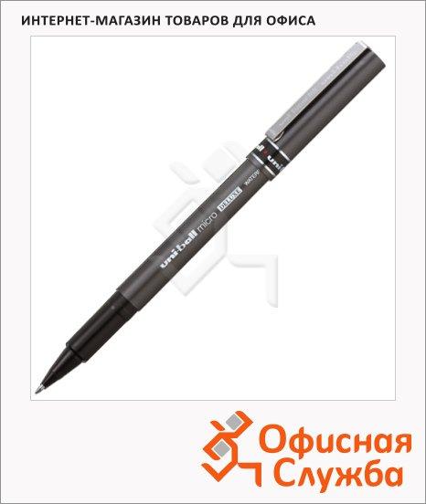 Ручка-роллер Uni Ball micro DELUXE UB-155 черная, 0.5мм, 66246