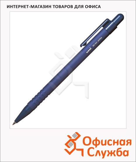Ручка шариковая автоматическая Uni SD-102 синяя, 0.5мм