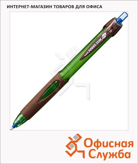 фото: Ручка шариковая автоматическая Uni Powertank SN-220 синяя