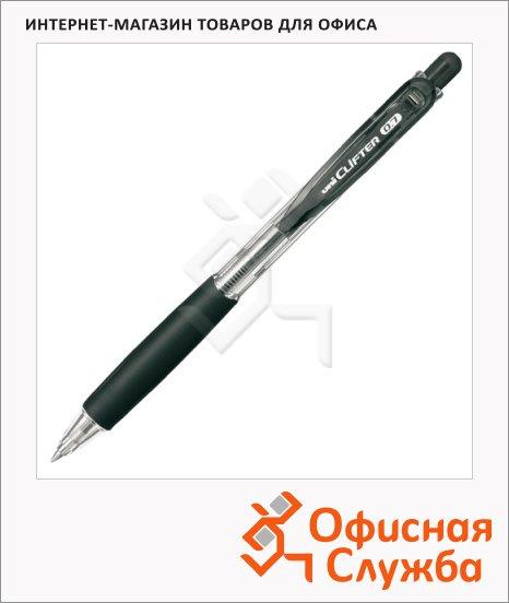 Ручка шариковая автоматическая Uni Clifter SN-118 черная, 0.7мм