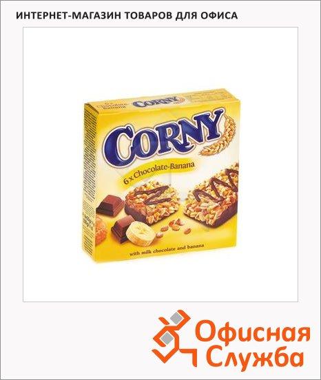 Батончик мюсли Corny шоколад и банан