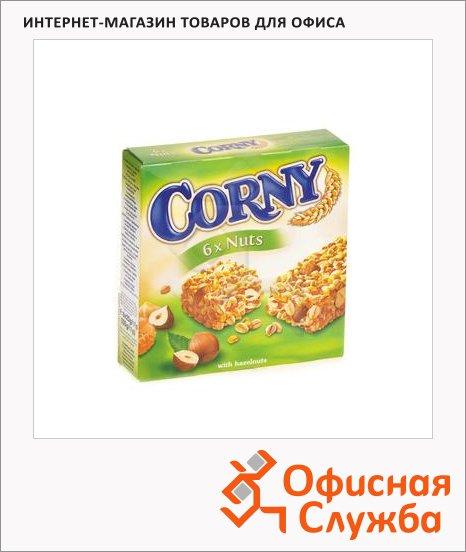 Батончик мюсли Corny с лесными орехами
