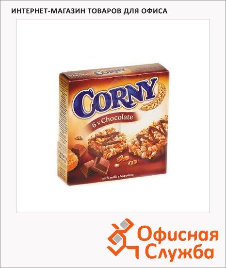 Батончик мюсли Corny шоколад, 150г, 6шт/уп