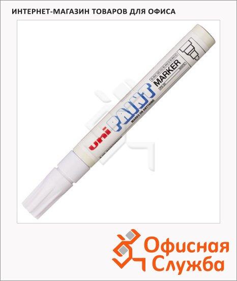 фото: Маркер промышленный перманентный Uni Paint PX-20 белый 2.2-2.8мм, круглый наконечник