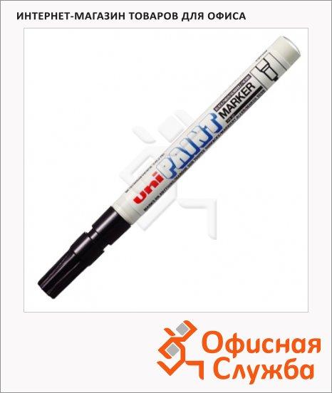 фото: Маркер промышленный перманентный Uni Paint PX-21 черный 0.8-1.2мм, круглый наконечник
