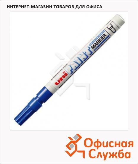 Маркер промышленный перманентный Uni Paint PX-21 синий, 0.8-1.2мм, круглый наконечник