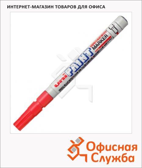 Маркер промышленный перманентный Uni Paint PX-21 красный, 0.8-1.2мм, круглый наконечник