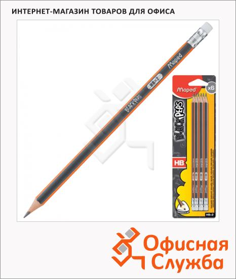 фото: Набор чернографитных карандашей Black Pep's