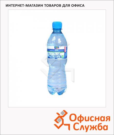 Вода питьевая Aro газ, ПЭТ, 0.5л