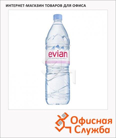 фото: Вода минеральная Evian Спорт без газа ПЭТ, 1.5л