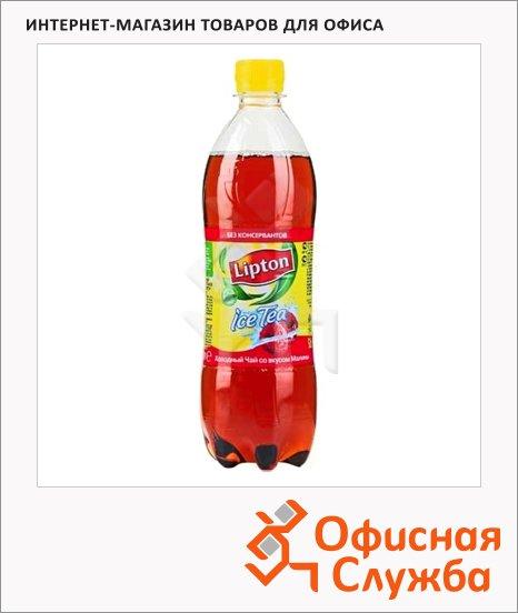 Чай холодный Lipton Ice Tea малина, 0.6л х 12шт, ПЭТ