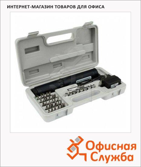 фото: Электроотвертка Buro Ningbo SN2441 8 торцевых ключей 29 сменных насадок