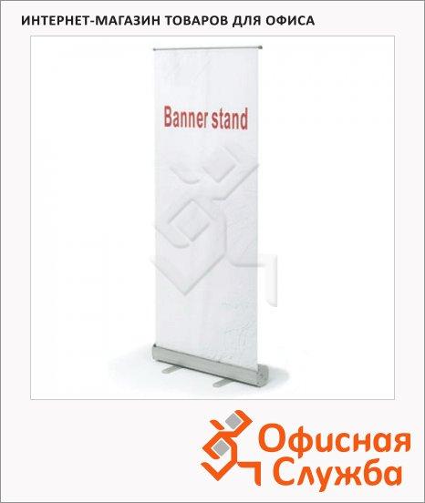 фото: Стенд мобильный для баннера Роллскрин 800х2000 мм