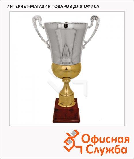 фото: Кубок металлический Зосим 64х38.5х38.5см красный с серебром