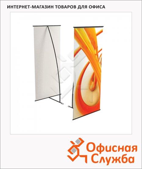 Стенд мобильный для баннера 80х180 см, L-banner А1