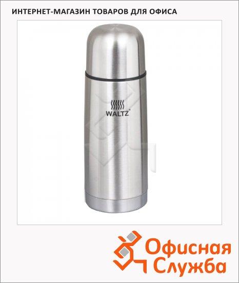 фото: Термос с узким горлом Waltz 0.35л нержавеющая сталь