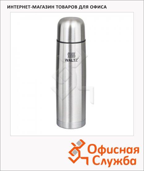 фото: Термос с узким горлом Waltz 0.75л нержавеющая сталь