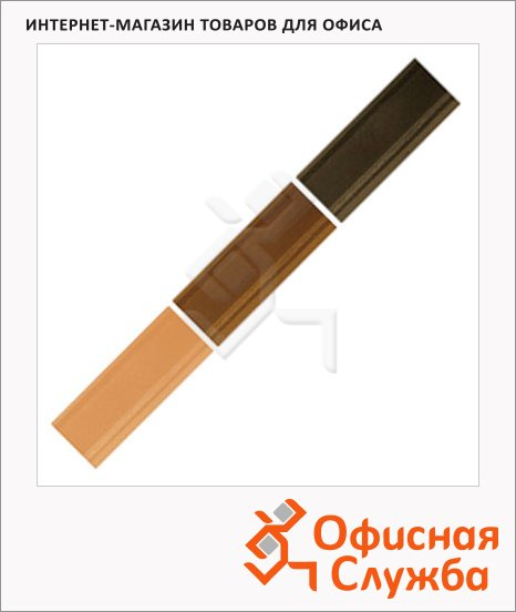 Мелок для мебели Edding 8901 дуб, 3 цвета, для маскировки трещин на деревянных поверхностях