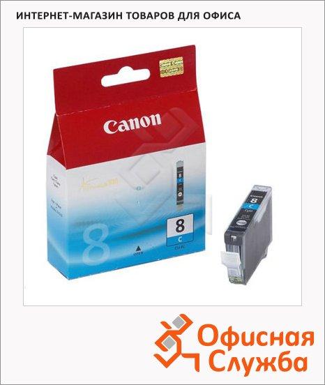 фото: Картридж струйный Canon CLI-8C голубой, (0621B024)